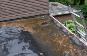 Leaking Flat Roof